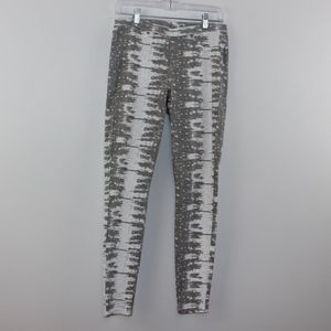 Simply Vera Wang Tie Dye Jeggings Leggings Gray M
